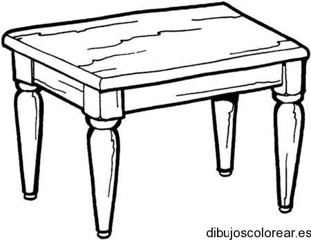 Dibujo de una mesa - Il tavolo da disegno ...