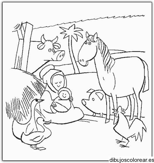 El Nacimiento De Jesus Para Dibujar. Imagenes Del Nacimiento Del Nio ...