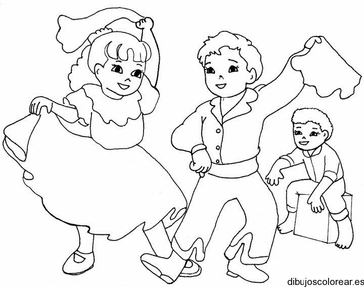 Niños | Dibujos para Colorear