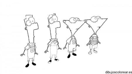 Dibujos-para-colorear-de-Phineas-y-Ferb-01