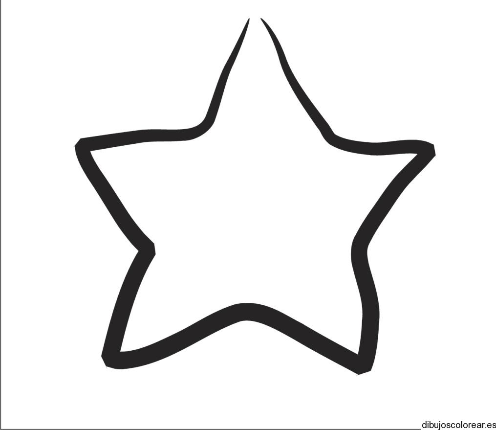 Estrella dibujo - Imagui