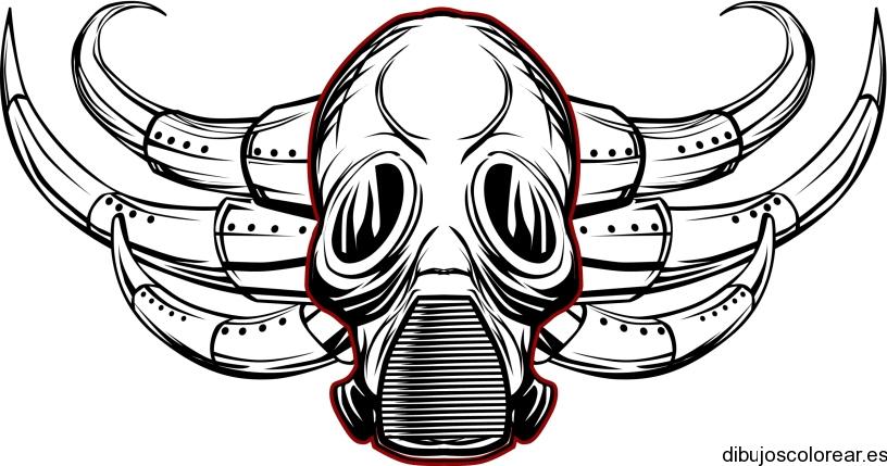 Dibujo De Fantasma Tenebroso Para Colorear: Máscaras