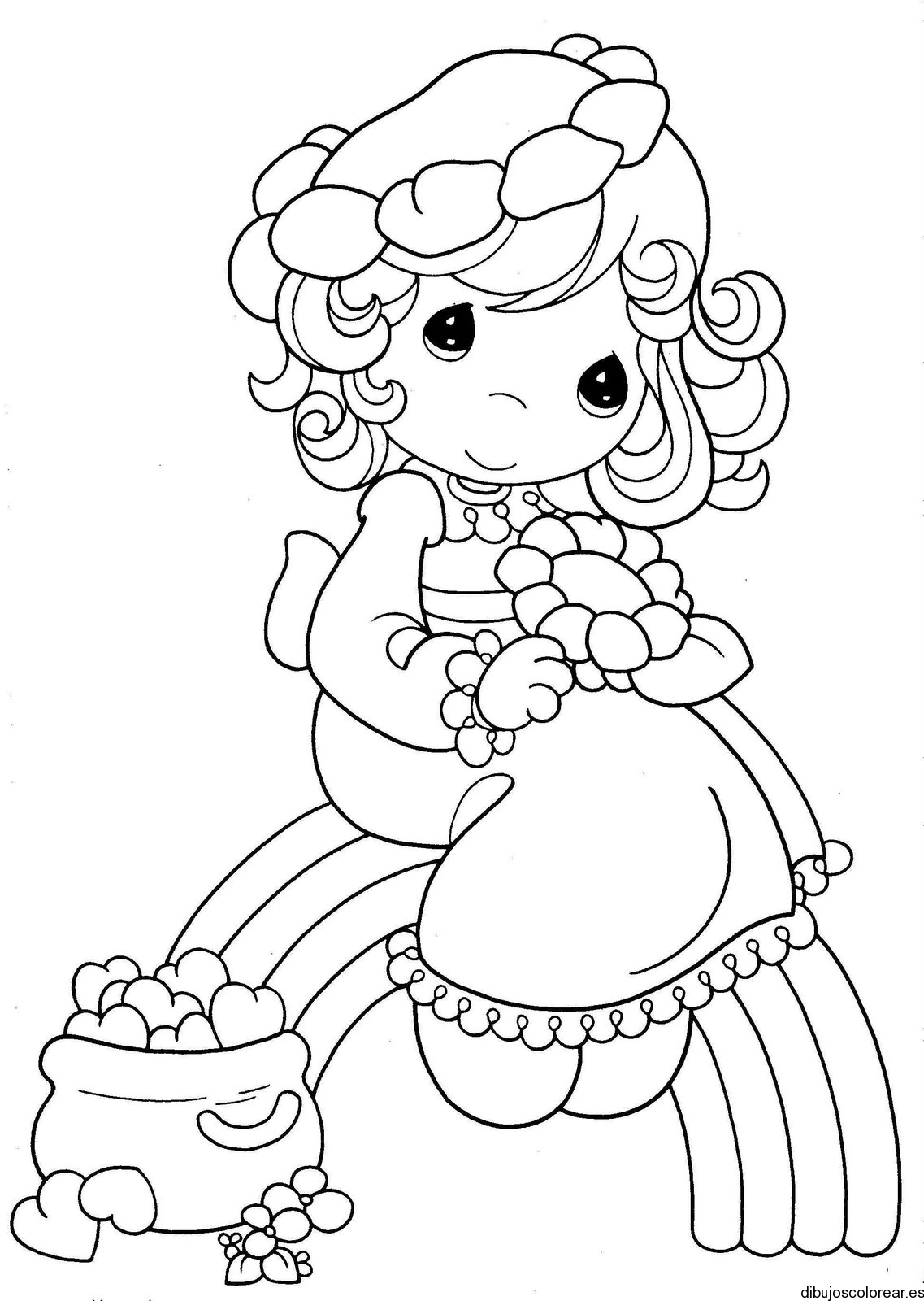 ninas world coloring pages - photo#14