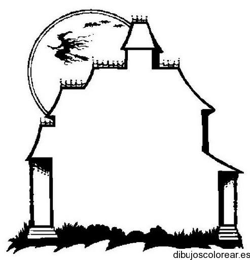Goticos dibujos para dibujar vampiros colorear pelautscom for Casas para dibujar