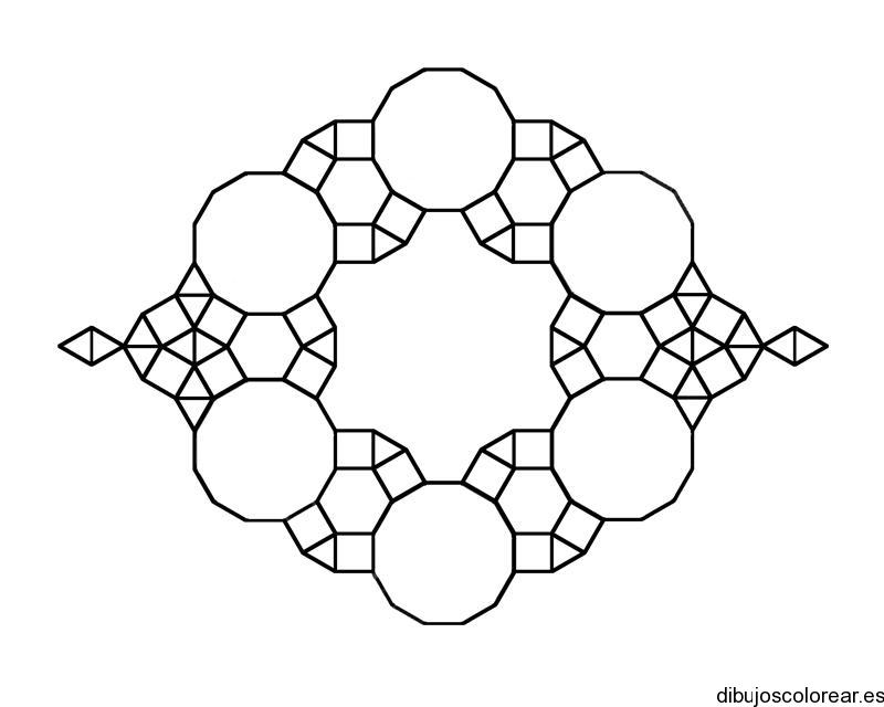 Dibujo de figuras geomtricas  Dibujos para Colorear