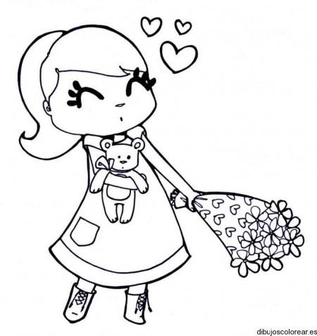 de-garota-com-flores-para-colorir-1-1-varios