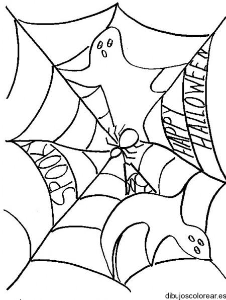 dibujo-colorear-ghost-web