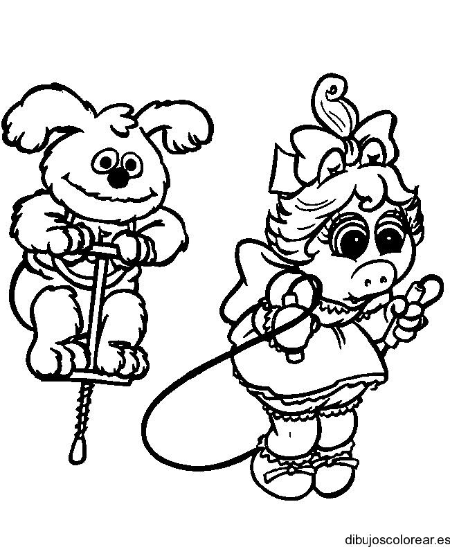 Niño saltando la cuerda para colorear - Imagui