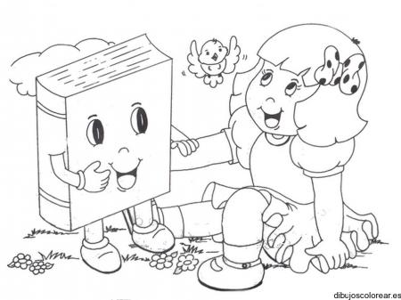 dibujos-de-libros-abiertos-para-colorear