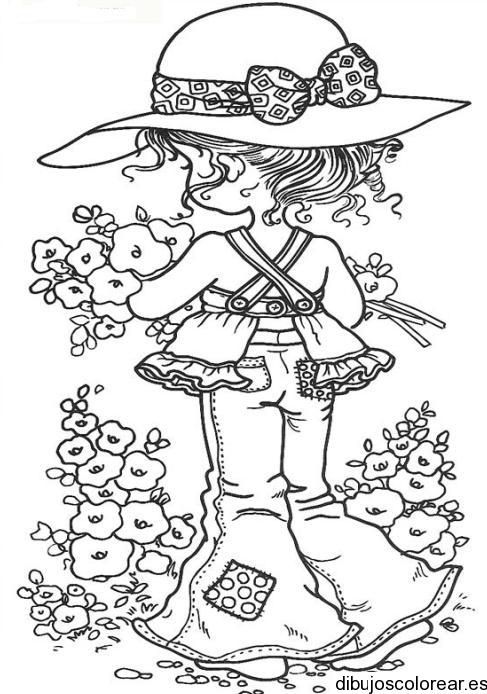 Dibujos Para Colorear De Nias. Top De Navidad U Dibujos Infantiles ...