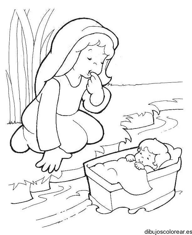 Consejería Matrimonial Catolico Gratis : Dibujo de moisés
