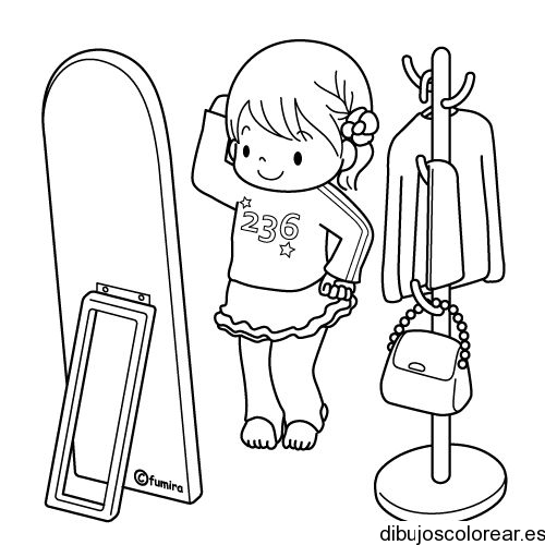 Free coloring pages of ni as en la ducha for Nina needs to go coloring pages
