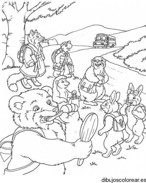Animales  Dibujos para Colorear