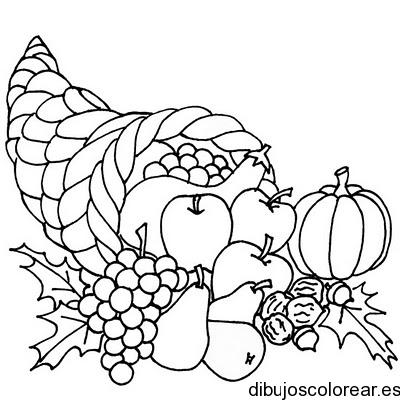Worksheet. Dibujo de un bodegn con frutas  Dibujos para Colorear