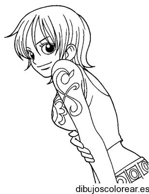 Dibujo De Una Chica Con Tatuaje