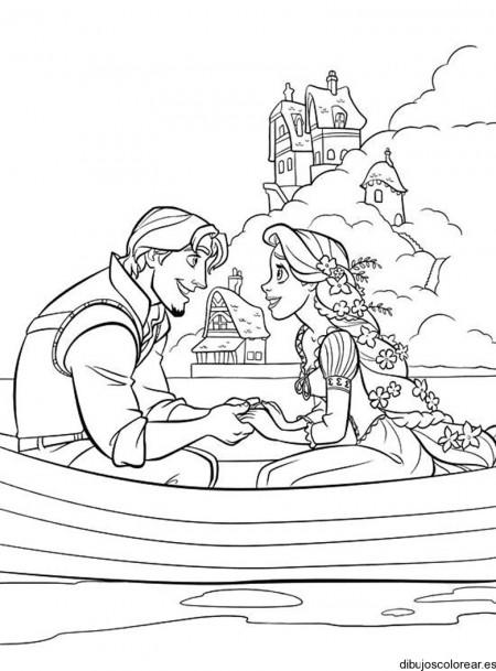 dibujos-para-pintar-de-rapunzel