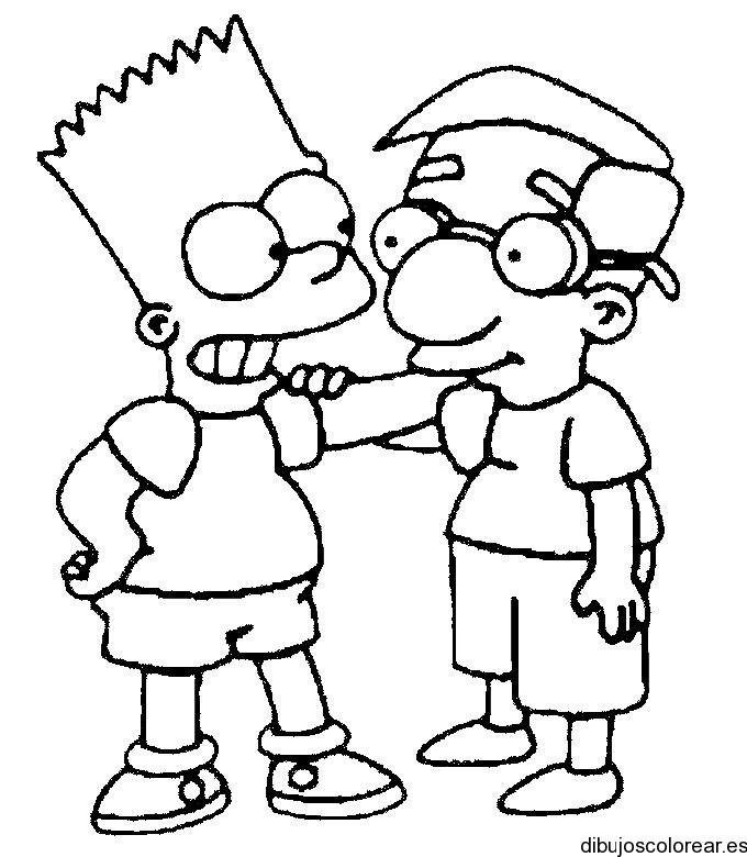 Homero | Dibujos para Colorear