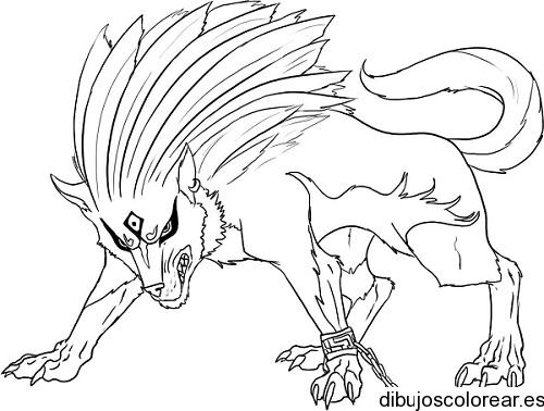 Imagenes de lobos con alas para dibujar - Imagui