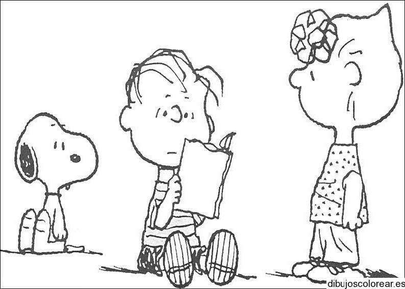 Dibujos Para Colorear De Charlie Brown