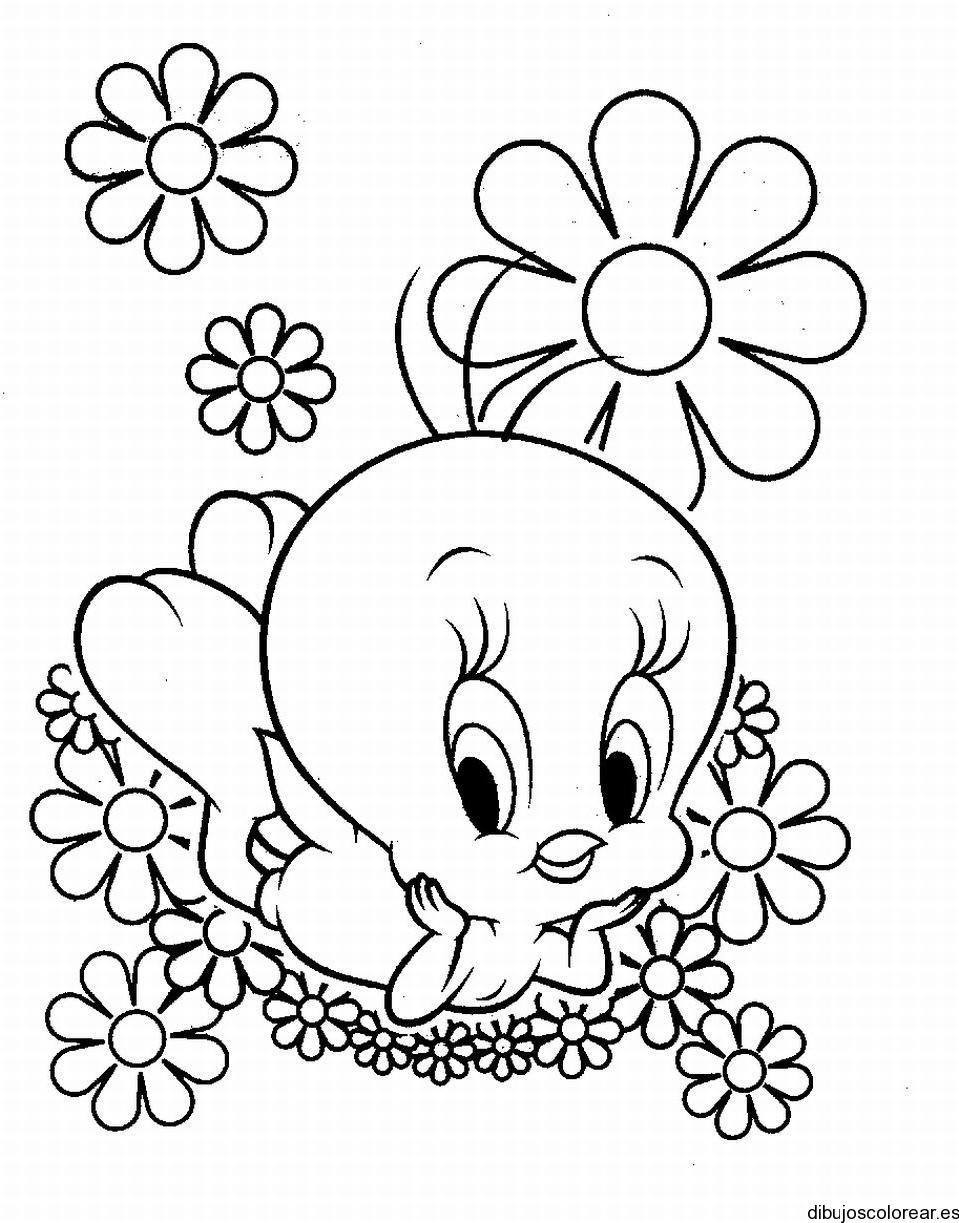Bonito Buenas Páginas Para Colorear De Flores Colección - Enmarcado ...