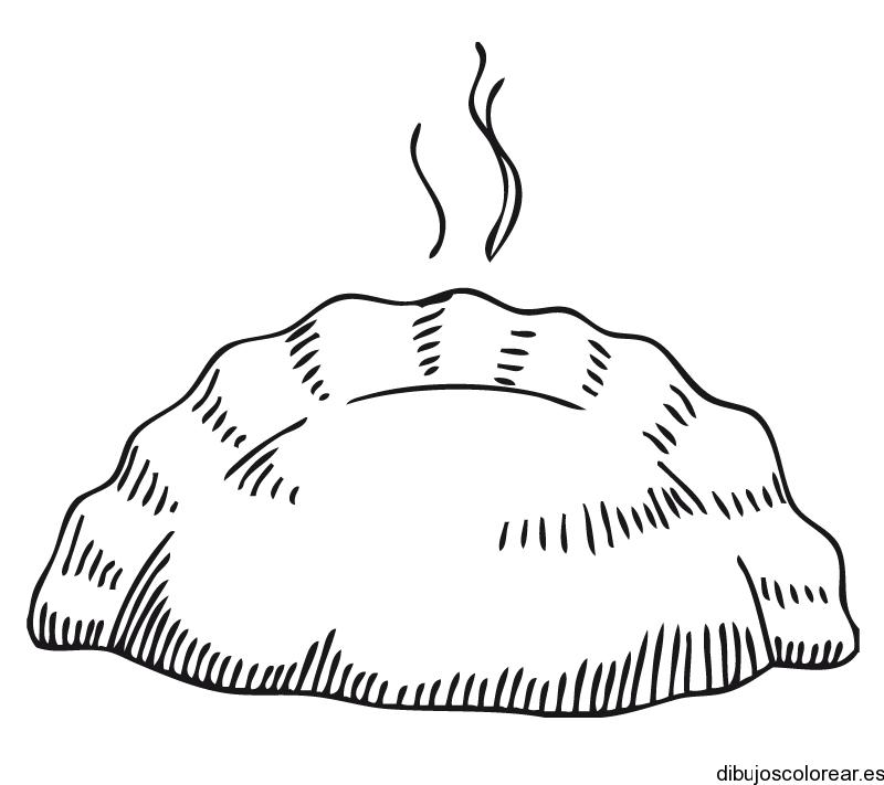 Dibujo de una empanada