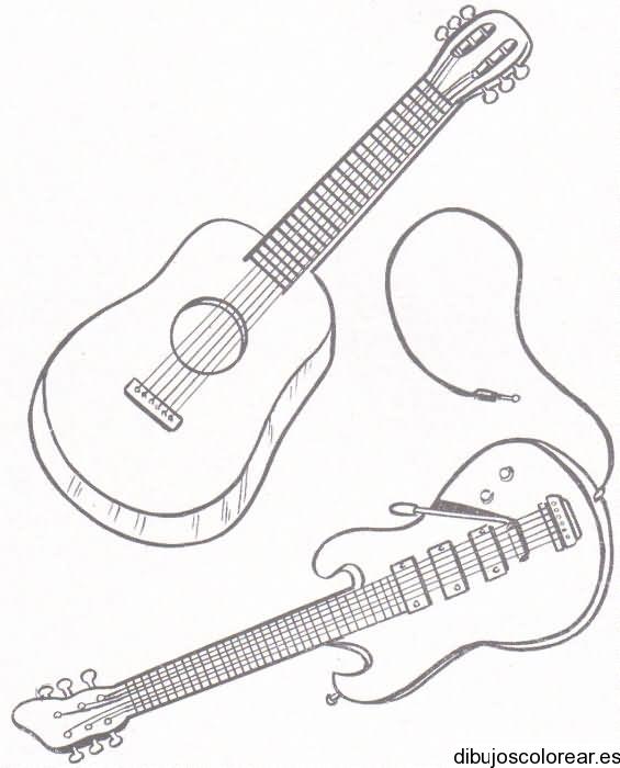 Dibujos de Musica   Dibujos para Colorear