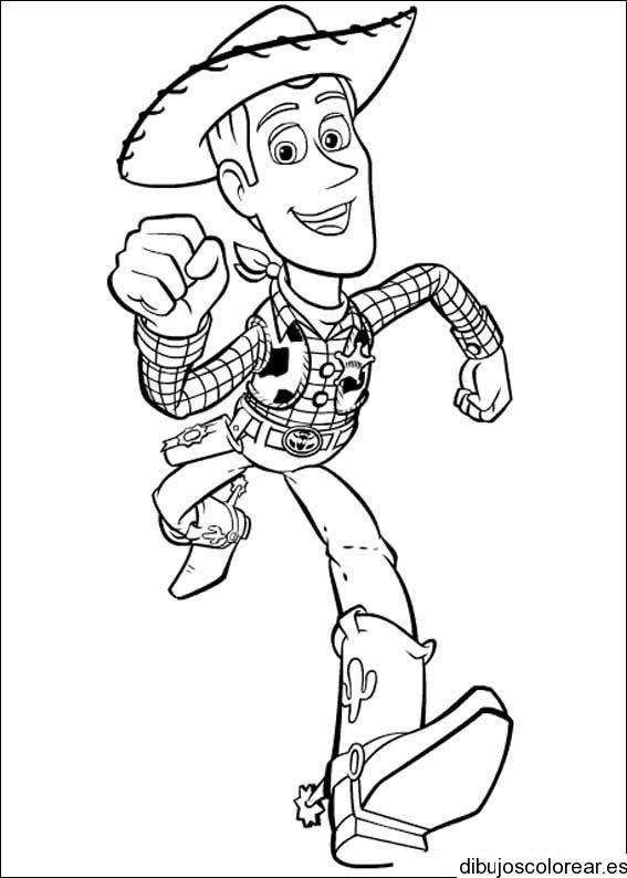 Dibujo de Woody | Dibujos para Colorear