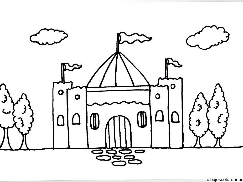 Castillos  Dibujos para Colorear