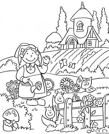 jardin-para-colorear