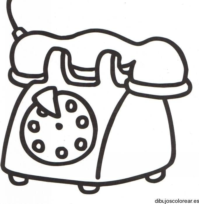Dibujo De Un Teléfono