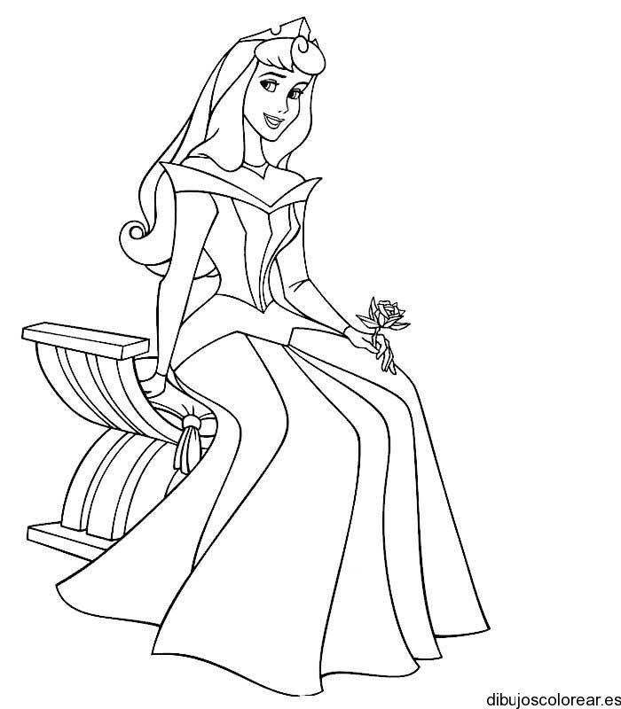 Dibujo De La Princesa Aurora