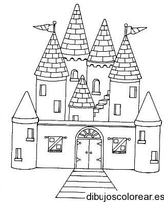 Dibujo de un castillo