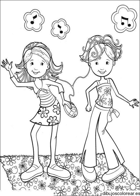 Dibujo De Niños Y Niñas Bailando