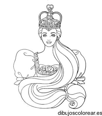 Dibujo De Un Antifaz Con Corona
