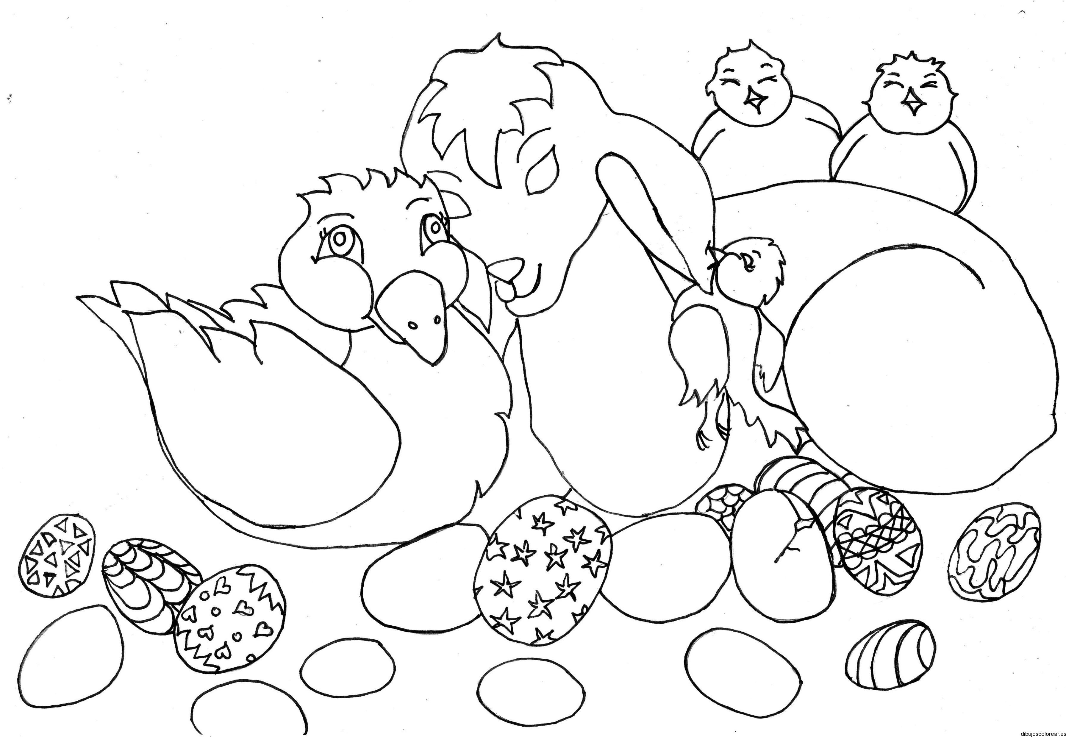 Dibujo de un árbol con los animales del bosque