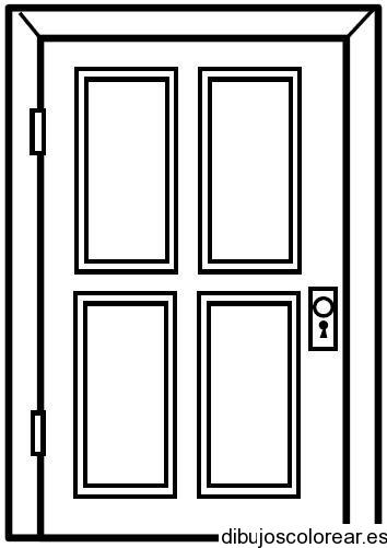 Dibujos de casas - Como pintar puertas de sapeli ...
