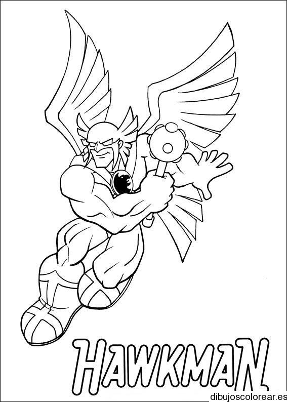 Dibujo De Superhéroe