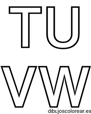 Dibujo de las letras X a la Z