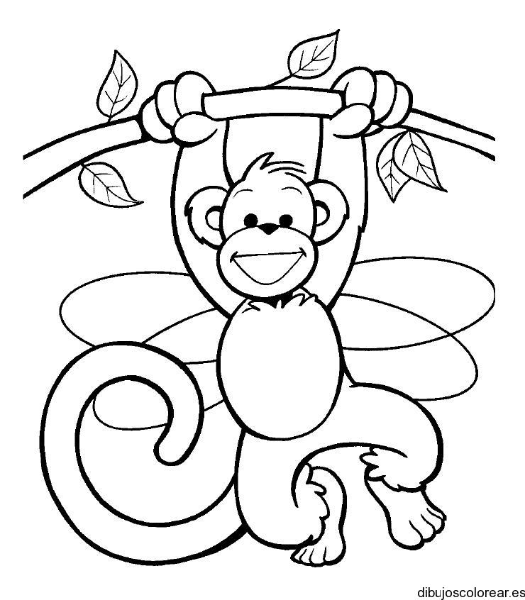 Dibujo de un mono