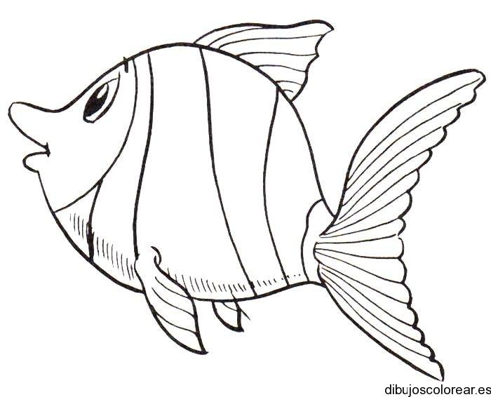 Dibujo De Un Pez En El Mar