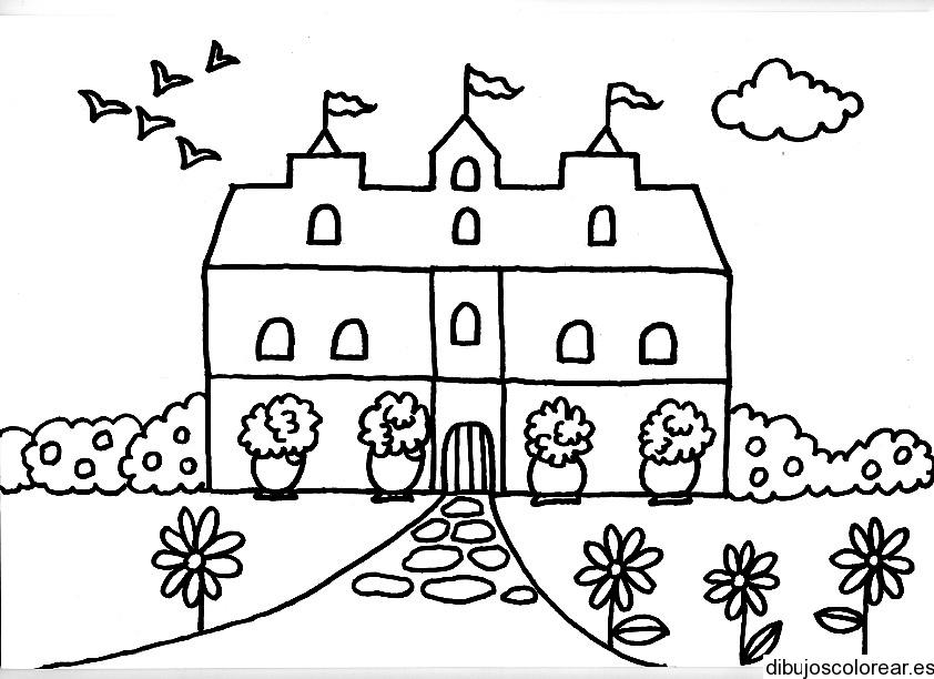 Dibujos de casas - Imagenes de casas para dibujar ...