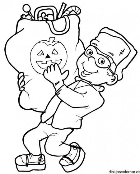 franquenstain-halloween-para-colorear