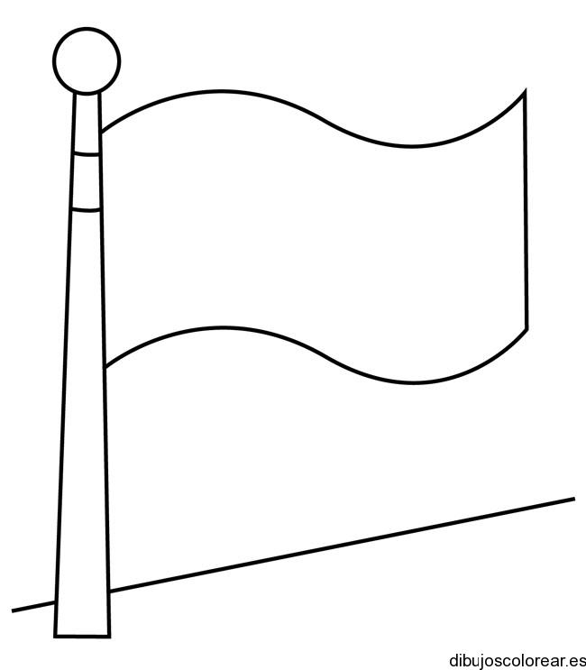 Dibujo de la bandera de Japón